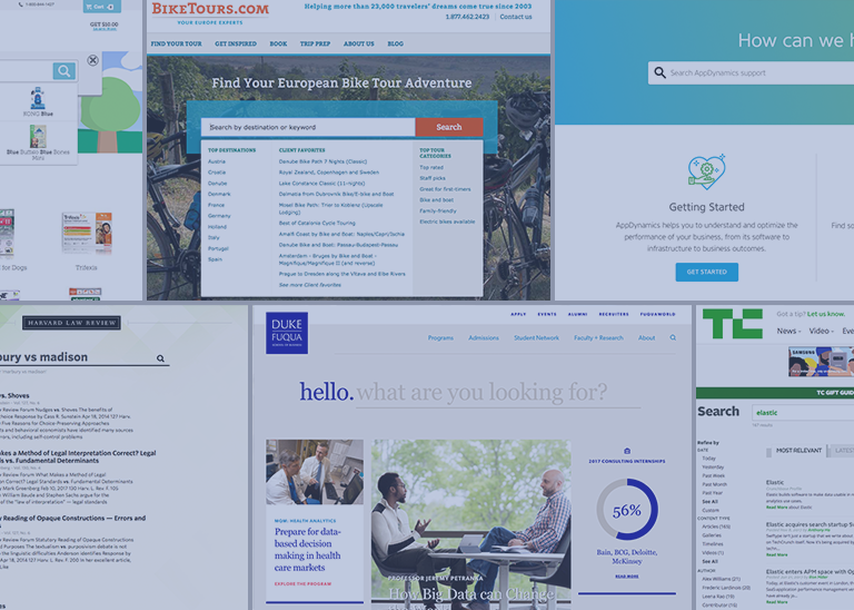 10 Examples of Well-Designed Search UIs | The Swiftype Blog